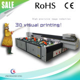 Pleines couleurs Imprimante à plat UV Imprimante à écran large 3D Visual Printing