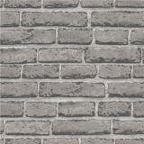 VinylBaksteen Stylewallpaper van pvc van het Ontwerp van de Vervaardiging van de fabriek de Eenvoudige