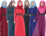 Мусульманский материал полиэфира платья женщины для Малайзии