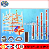 precio de fábrica OEM la construcción de acero pintado Cuplock DIP andamios para la venta