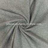 Tessuto delle lane fronte del tessuto del plaid di singolo