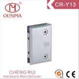 Charnière de quincaillerie fixe de 0 degrés utilisée dans la salle de douche (CR-Y13)