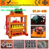 Blocchetto della macchina per fabbricare i mattoni Qtj4-40/Concrete che fa macchina 2017