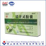 Caja de embalaje de papel impresa insignia de encargo