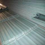 Strato di plastica ondulato del tetto della vetroresina di Tranlucent del comitato del tetto di FRP
