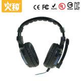 Cuffia avricolare stereo collegata all'ingrosso di vendita calda del calcolatore di gioco Hz-108 con il microfono