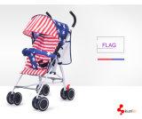 다채로운 아기 Strolle 의 귀여운 아기 2 륜 마차, 접히는 유모차