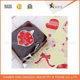 Etiqueta engomada de encargo de la promoción de la Navidad de la alta calidad, etiqueta engomada de la venta, etiqueta engomada de DIY