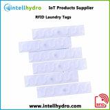 À prova de água M4Qt Etiqueta de Nylon lavável lavandaria etiqueta RFID UHF têxteis