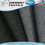 Cotone della lavata 250GSM del nero del rifornimento della fabbrica che lavora a maglia il tessuto lavorato a maglia del denim per le ghette