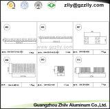 Indicatore luminoso di alluminio di H-Figura Heatsink/LED del pettine del materiale da costruzione