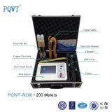 Pqwt-W200 200m Détecteur d'eau souterrain le plus vendu