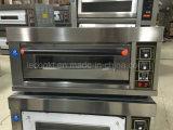 Pão elétrico da padaria do forno da única bandeja industrial da plataforma única