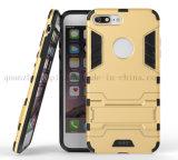 Cassa Shockproof del telefono mobile delle cellule del PC di TPU su ordinazione con il supporto