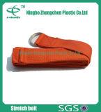 Cinghie del cotone tessute abitudine per la cinghia di stirata del cotone di esercitazione di yoga