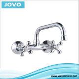 Cuisine fixée au mur Mixer&Faucet Jv74005 de traitement simple de corps de zinc
