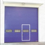 Porte rapide à grande vitesse automatique de garage d'obturateur de rouleau de l'alliage d'aluminium