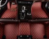 ジャガーFのタイプ2015年の車のマット5D革XPE