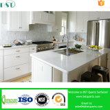Brames blanches pures de quartz pour la partie supérieure du comptoir de cuisine