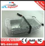 Bernsteinfarbiger weißer Röhrenblitz, der MiniLightbar 24 LED Röhrenblitz-Lampe warnt
