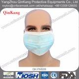 3 Falte-nichtgewebte medizinische Mund-Wegwerfgesichtsmaske