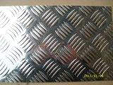 5 staaf, de Plaat van het Loopvlak van het Aluminium van het Patroon van de Diamant