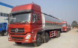 Dongfengは4つの車軸40000 L燃料のタンカー35tへの40tタンクトラックに燃料を補給する