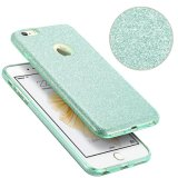 Moda luxo protetora híbrida Beleza Crystal Rhinestone Sparkle Glitter Hard Diamond Case Cover para iPhone 6s