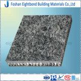 panneau en aluminium de nid d'abeilles de surface de granit de 25-50mm