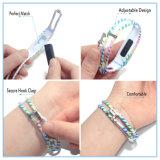 Faixas da recolocação para o cabo flexível de Fitbit, acessório do Wristband do silicone da forma