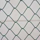 PVC上塗を施してある機密保護の金網のチェーン・リンクの塀