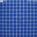 아이들 수영풀을%s 밝은 파란색 수정같은 유리 모자이크 타일