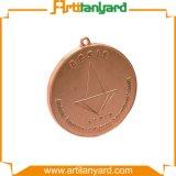 도매에 의하여 주문을 받아서 만들어지는 구리 도금 금속 메달