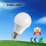 Sigma Residencial Comercial Alto Lm a poupança de energia AC 110V, 127V, 220V 3W 5W 7W 9W 12W A19 A60 Lâmpada LED com B22 E27