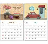 Профессиональный календар стены высокого качества изготовления