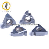 carboneto de tungsténio Rosca Inserir a ferramenta de corte CNC