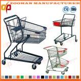 Изготовление Китая тележки вагонетки покупкы супермаркета металла цинка крома (Zht185)