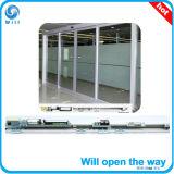 Operador de puerta de aluminio para puertas corredizas de vidrio automática