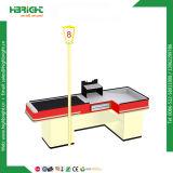 Gemischtwarenladen-Bargeld-Tisch-Bargeld-Schreibtisch mit Lampe