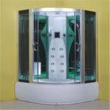ガラスシャワーの小屋Jinna 90X90を和らげる低価格の白いセクター