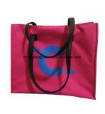 L'unité centrale de beauté des femmes en nylon de créateur traite le sac de client d'emballage
