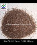El óxido de aluminio marrón para medios abrasivos& de materias primas refractarias