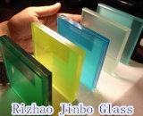 Sicurezza e vetro laminato Tempered colorato per costruzione/finestra/portello/la mobilia (JINBO)