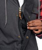 Jupe rouge noire de capot de plaid