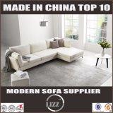 Il sofà semplice del cuoio genuino di stile di ultimo svago coreano