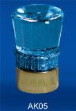 Tapón de botella de plástico, aluminio tapa, tapa de madera