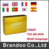 1つのチャネル1080P HD DVR、128GB小型SD DVRモデルBd3118