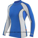 Venta al por mayor de alta calidad Lycra Rash Guard para Kid