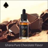 Refill флейвора e Cigratte шоколада 100% тип чисто Гана жидкостный великобританский для курить Vaping 3mg