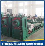Hidráulica manguera de acero tubería flexible que hace la máquina